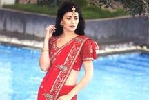 Bridal Sarees Online / Marriage is the most important occasion in a woman's life, and lovely bridal collection play an equally important role in that wondrous period.  / by Utsav Fashion
