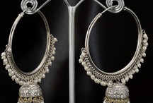 Earrings / The style of these luscious earrings flatter every woman and can be purchased to match any outfit. They are suitable for any occasion whether it is a wedding, a party or a work environment. / by Utsav Fashion