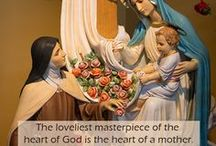 """BABIES / """"Contemplation is learned at the mother's breast.""""  St. Bonaventure / by Linda Alexander"""