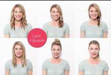 GG X Sephora: 1 Girl, 6 Lipsticks  / by Glitter Guide