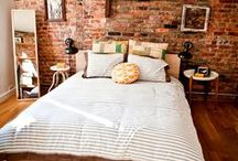 Bedrooms-Closets / bedding. pillows. accesories / by Kimberly Stibral
