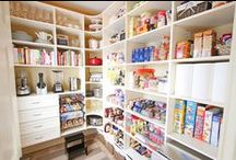 Pantries / Ideas and inspiration for creating functional storage for food, kitchen and household supplies. / by Textures Flooring Nashville