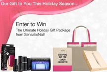 Ultimate Holiday / WIN the ultimate holiday gift package from SensatioNail! 5 Grand Prize winners will receive: a White 16GB iPad 2, Kate Spade iPad case, Kate Spade handbag, $100 iTunes gift card and a SensatioNail Starter Kit. Plus, we'll announce 5 weekly winners to receive the SensatioNail Starter Kit. Enter to win thru 12/5/12. / by SensatioNail