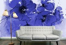 Walls, Walls, Walls / Wallpaper is back in vogue with bold graphic designs. This board showcases interesting wall treatments including wallpaper and other creative wall coverings or treatments. / by Textures Flooring Nashville
