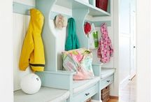 Mudrooms & Laundry Rooms / Multipurpose mudroom/laundry rooms are great spaces for storing wet/cold weather gear in addition to providing a landing spot for backpacks, groceries, etc... and, of course, doing the laundry! / by Textures Flooring Nashville