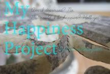 My Happiness Project  / Inspired by The Happiness Project by Gretchen Rubin, my journey to a happier life.  / by Rebecca Kelsey