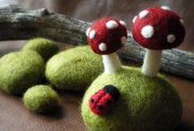 Mushroom Obsession / Mushrooms! / by FreshStitches