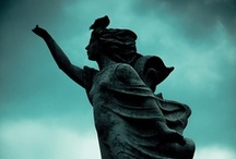 Angels and Cemetery Statues / sad beauty / by Jean Thompson
