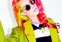Chloe inspired / Hair color from a box...of crayons  / by Melissa Wagner