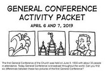 church related - general conference ideas / by Jennifer Eskelsen Jurgens