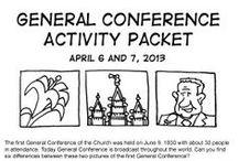 church related - general conference ideas / by Jennifer Eskelsen Jurgens
