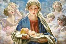 Salve Regina / Mary, Maria...Miriam / by Elizabeth Gomez-Boffil