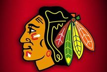 THE HAWKS / Chicago Blackhawks  / by MARI CEPEDA