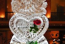 Wedding Ice sculptures  / by Tori - Platinum Elegance Weddings & Events