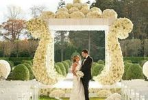 Ceremony Spaces - Alters, Mandaps, & Chuppahs / by Tori - Platinum Elegance Weddings & Events