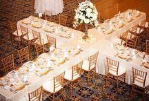 Receptions - Table Setup Design / by Tori - Platinum Elegance Weddings & Events