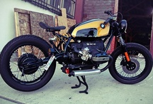 Bikes / Collecting inspiration for a v-twin cafe racer build / by Sean Cross