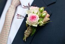 Wedding flowers for the guys / by Jeannine @ Be Loved