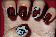 Characters & Logos - Nail Art / Photos of my nail art, done by me, on my own natural nails. / by Sinful Nail Art