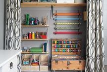Craft room ideas / by Julie Joseph