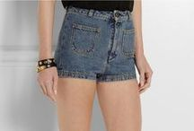 Denim Shorts / by Fashion Gone Rogue