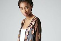 Kimono Cardigans with Fringe / by Fashion Gone Rogue