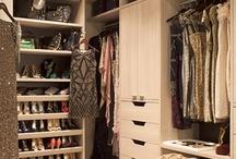 Closets Closets Closets / closet, walk-in closets, reach-in closet, storage, closet layout, closet organization, closet ideas / by Lena
