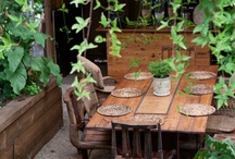 Outdoor / Patio / Sunroom / Garden / Patio, sunroom, backyard, gardening, outdoor dining, porch / by Lena