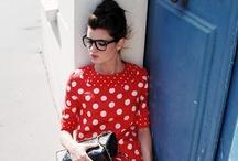 Specs / specs, black frames, black glasses / by Lena