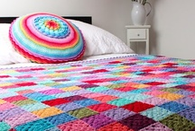 Only the Cool Kids Crochet & Knit Afghans! / Colorful afghan patterns and ideas to brighten up your home. / by Rebecca Butzow
