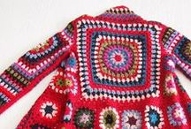 Crochet Tops&Jackets / by Kim Wills Scott