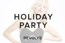 HOLIDAY PARTY / All I want...introducing our one-stop Holiday Shop for the most festive party outfits of the season! / by REVOLVE (revolveclothing.com)