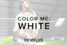 COLOR ME : WHITE  / by REVOLVE (revolveclothing.com)