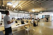 Coworking USA / Coworking Spaces in the U.S. / by Deskmag - Coworking Magazine