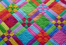 Quilted, Knit, or Crocheted / by Rhonda Sanders