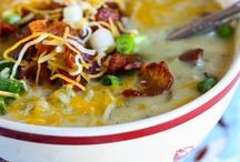 Soups and Chowders / Yummy soups and chowder recipes. / by Shelley Worrall
