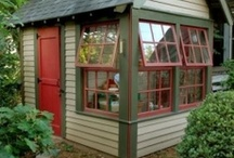 10680 Shed exterior / The new look of the old carport / by Scott Cain