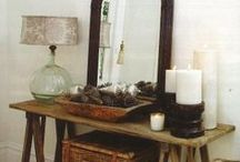 Design: Living Spaces / Beautiful living spaces, reading nooks, tons of pillows and lots of books! (lets not forget candles) / by Samantha Speer {Sweet Jeanie's Cakes}