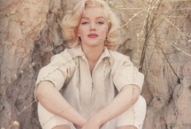 """marilyn / """"we are all of us stars, and we deserve to twinkle.""""   / by atara"""