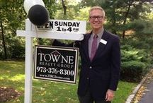 All Signs Lead to Towne / Everyone knows our TRG signs in NJ because they are all over the Townes we live and work in.  / by Towne Realty Group