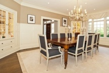 Dining Room Delights / Dining rooms, breakfast rooms, al fresco dining areas are all places where we carry on our traditions of family, holidays and ofcourse eating. Bon Appetit!  / by Towne Realty Group
