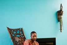 African interiors / African and Africa-inspired design / by Lulu Kitololo / Afri-love