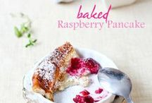 Recipes : Breakfast /  Pancakes, wraps, savoury and sweet things!  / by Samantha Speer {Sweet Jeanie's Cakes}