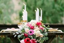 Planning a Wedding / beautiful outdoor seating lights lanterns romantic elegant / by Samantha Speer {Sweet Jeanie's Cakes}
