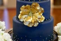 Cakes: Blue Cakes / Sky blue, Atmosphere, Stars, clouds / by Samantha Speer {Sweet Jeanie's Cakes}
