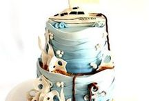 Cakes: Nautical Boat Fishing Cakes / by Samantha Speer {Sweet Jeanie's Cakes}