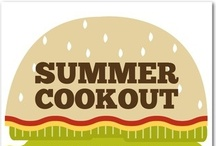 One day, during my ample amounts of free time, I'm gonna have a cookout / The ultimate cookout, picnic, backyard get together....when I actually have time to do it and do it up right! / by Amy Morgeson