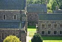 Mount Saint Bernard Abbey / Mount St Bernard's Abbey is a Cistercian monastery of the Strict Observance (Trappists) near Whitwick in Leicestershire, England, founded in 1835. Its present Superior is Dom Joseph Delargy.   / by Volker Buntrock
