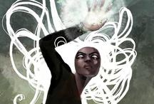 "Geek Art / Superhero & comic art. // Related boards: ""Comic Book Covers"" & ""Art."" / by Anastasia Garcia"