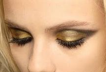 Makeup inspirations - EYES / Fotos de faces maquiadas encontradas na internet e facebook. Desconheço as autorias.  / by Sophia Souza